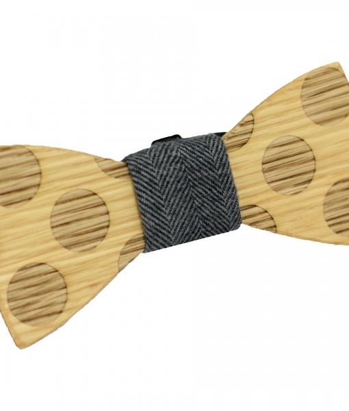 Earl Wooden Bow Tie