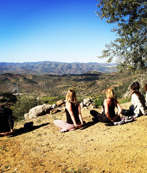 Yoga Retreat in Malaga - sirsasana