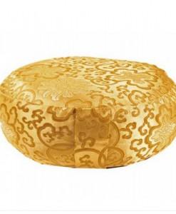 Meditatiekussen - goudkleurig, Lotus Design
