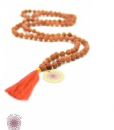 Hippy chic meditation necklace