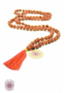 Hippy chic meditation necklace