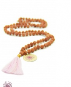 boho chic meditation necklace