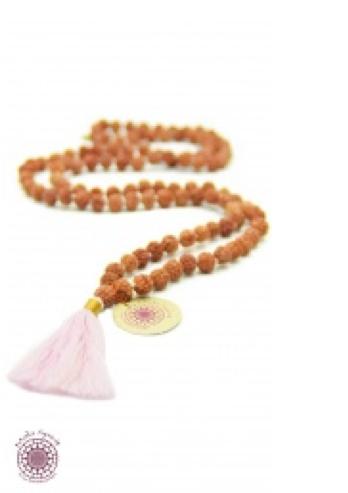 boho chic meditation necklace