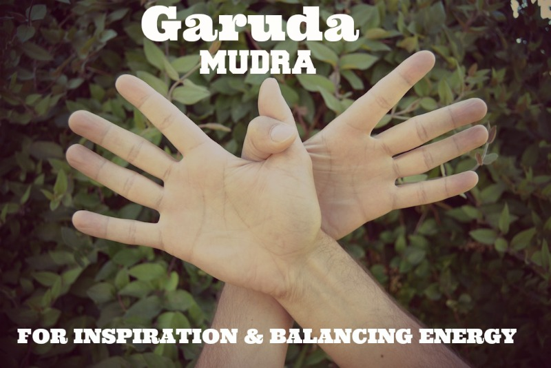 Garuda Mudra- Inspiration and Energy