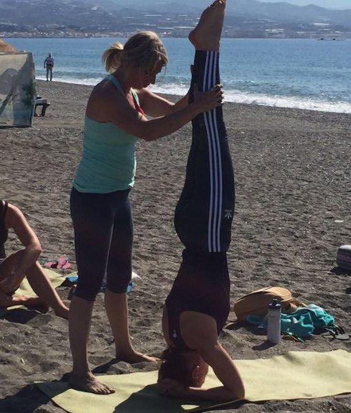Yogavakntie in Malaga - om nooit te vergeten!