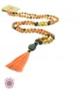 Boho meditation necklace