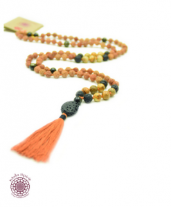 Boho meditation necklace