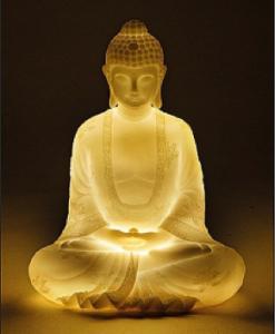 Boeddha led lampje