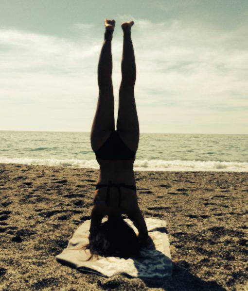 Beach Yoga retreat Malaga Andalusia