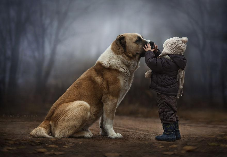 cool-animal-children-photography-Elena-Shumilova-dog