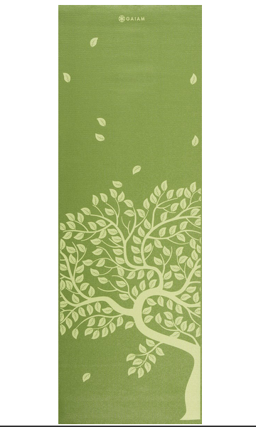 mooie groene yogamat