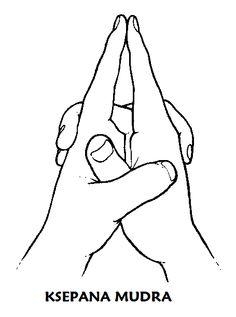 Yoga Mudra om dingen los te laten