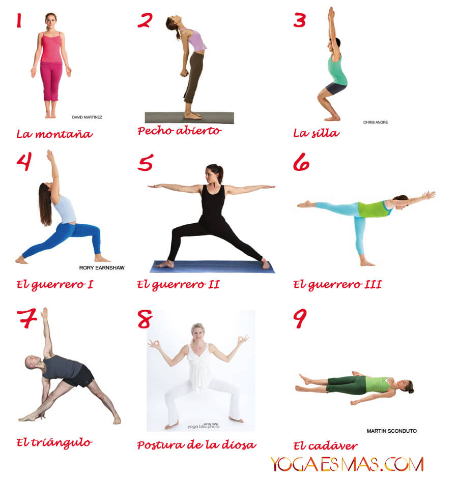 Posturas de yoga para aumentar la confianza en uno mismo