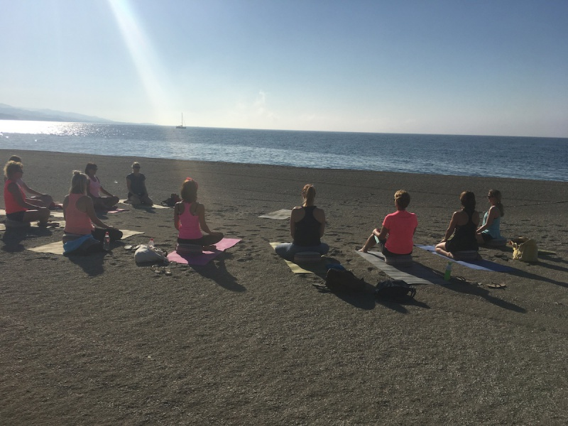 yoga beach retreat spain viva la vida