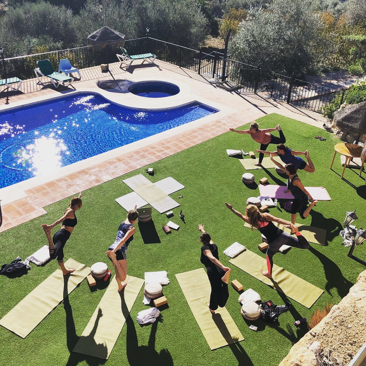 Wim Hof retreat Spanje