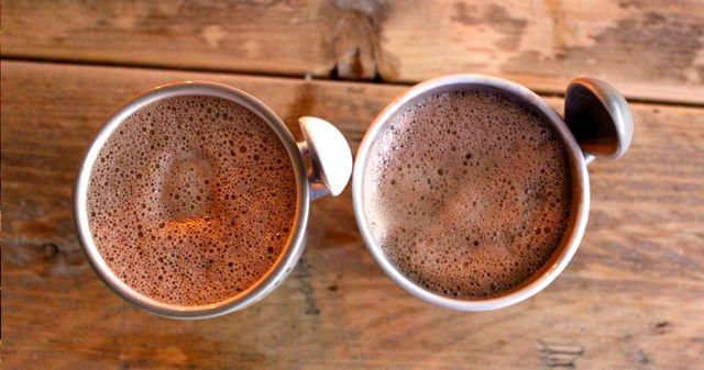 Chocolade melk zonder melk