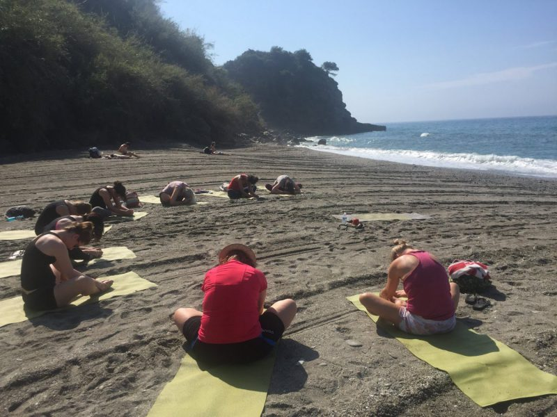Beach Retreat Malaga Sup Yoga Yin Yoga Beach Yoga Andalusia Viva La Vida