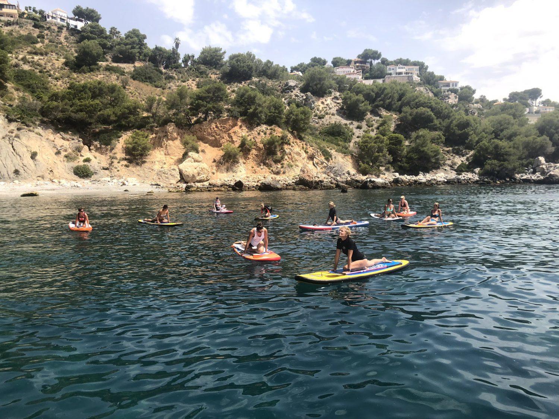 Beach Retreat Malaga Sup Yoga Yin Yoga Beach Yoga Andalusia Viva La Vida