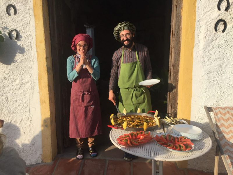 Kookworkshop yoga retreat spanje malaga
